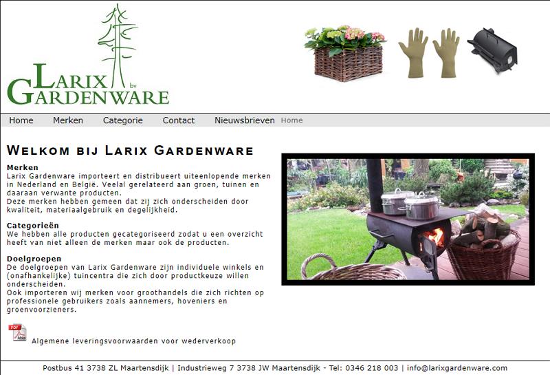 Larix Gardenware
