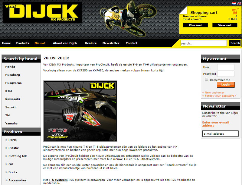 van Dijck MX Products